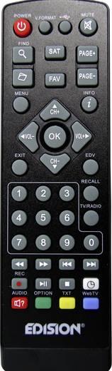 EDISION Proton T265 DVB-T/T2/C Kombo-Receiver Front-USB, Deutscher DVB-T2 Standard (H.265)