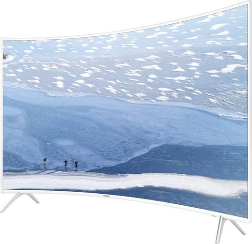 LED-TV 123 cm 49 Zoll Samsung KU6510 EEK A Weiß