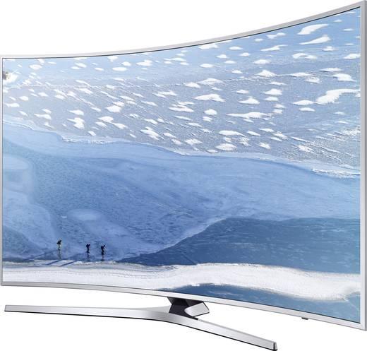 LED-TV 108 cm 43 Zoll Samsung KU6500 EEK A Silber