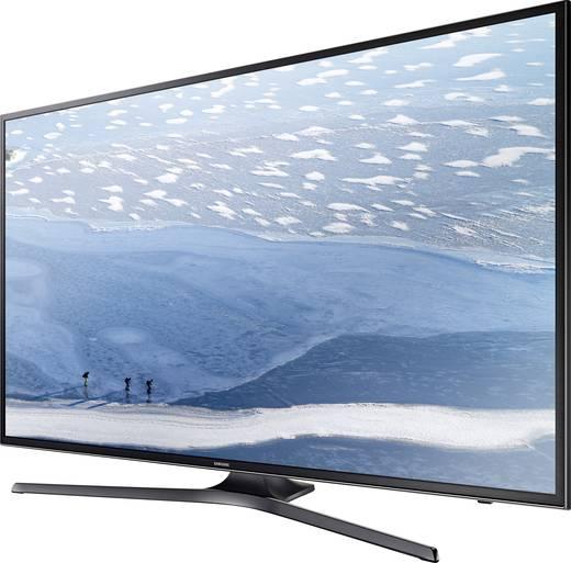 LED-TV 163 cm 65 Zoll Samsung KU6070 EEK A Schwarz