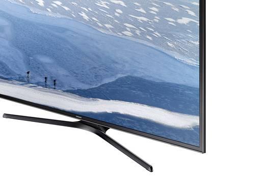 led tv 125 cm 50 zoll samsung ue50ku6070 eek a schwarz kaufen. Black Bedroom Furniture Sets. Home Design Ideas