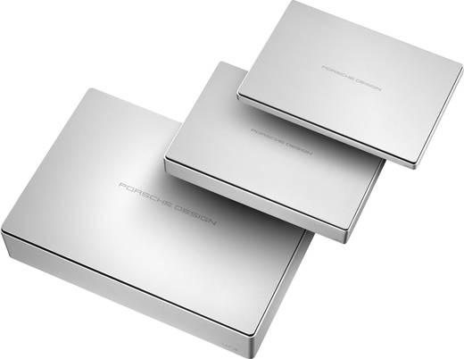 Externe Festplatte 6.35 cm (2.5 Zoll) 2 TB LaCie Porsche Design Silber USB-C™