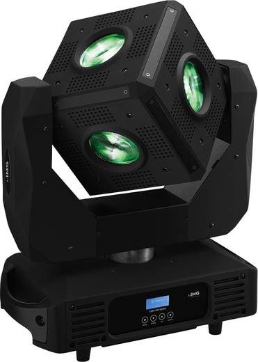 LED-Moving Head IMG STAGELINE CUBE-630/RGBW Anzahl LEDs:6 x 30 W
