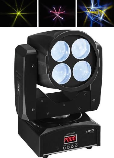 LED-Moving Head IMG STAGELINE XBEAM-410LED Anzahl LEDs:4 x 10 W