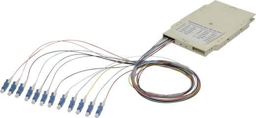 LWL-Spleißbox 12 Port LC Multimode OM3 Bestückt Digitus Professional A-96533-02-UPC-3