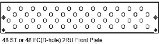 LWL-Verteilerplatte Digitus Professional DN-96214-2U Lichtgrau (RAL 7035)