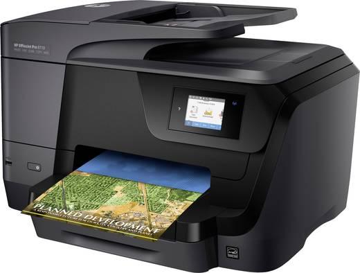 HP OfficeJet Pro 8710 e-All-in-One Tintenstrahl-Multifunktionsdrucker A4 Drucker, Scanner, Kopierer, Fax LAN, WLAN, Dupl