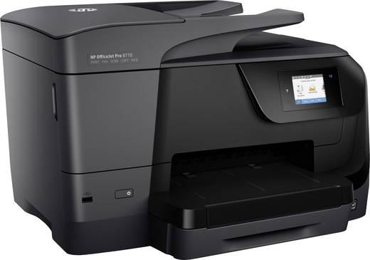 HP OfficeJet Pro 8710 All-in-One Tintenstrahl-Multifunktionsdrucker A4 Drucker, Scanner, Kopierer, Fax LAN, WLAN, Duplex