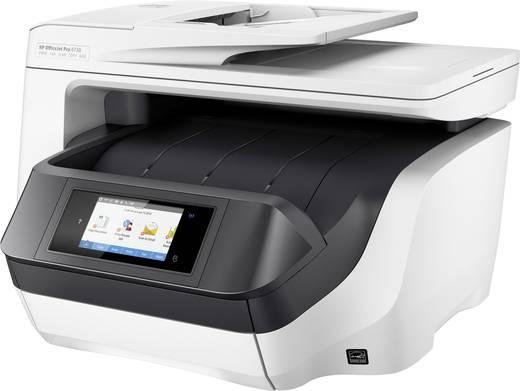 HP OfficeJet Pro 8730 All-in-One Tintenstrahl-Multifunktionsdrucker A4 Drucker, Scanner, Kopierer, Fax LAN, WLAN, Duplex