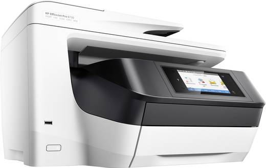 hp officejet pro 8730 all in one tintenstrahl multifunktionsdrucker a4 drucker scanner. Black Bedroom Furniture Sets. Home Design Ideas