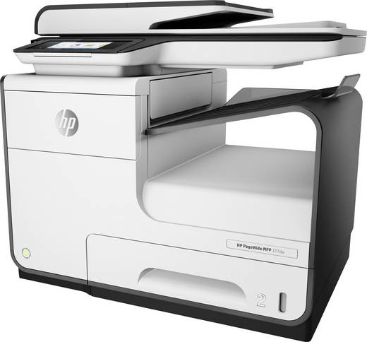 hp pagewide 377dw tintenstrahl multifunktionsdrucker a4 drucker scanner kopierer fax lan. Black Bedroom Furniture Sets. Home Design Ideas