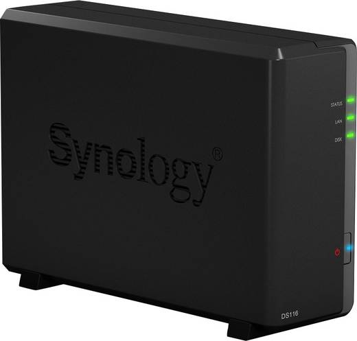 NAS-Server Gehäuse Synology DiskStation DS116 1 Bay