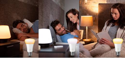 philips lighting hue led leuchtmittel einzeln white ambiance e27 9 5 w warm wei neutral wei. Black Bedroom Furniture Sets. Home Design Ideas