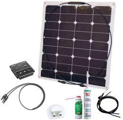 Odolná solární sada Phaesun Energy Kit Flex Rise Three 600292, 50 Wp, vč. kabelu, vč. nabíjecího regulátoru