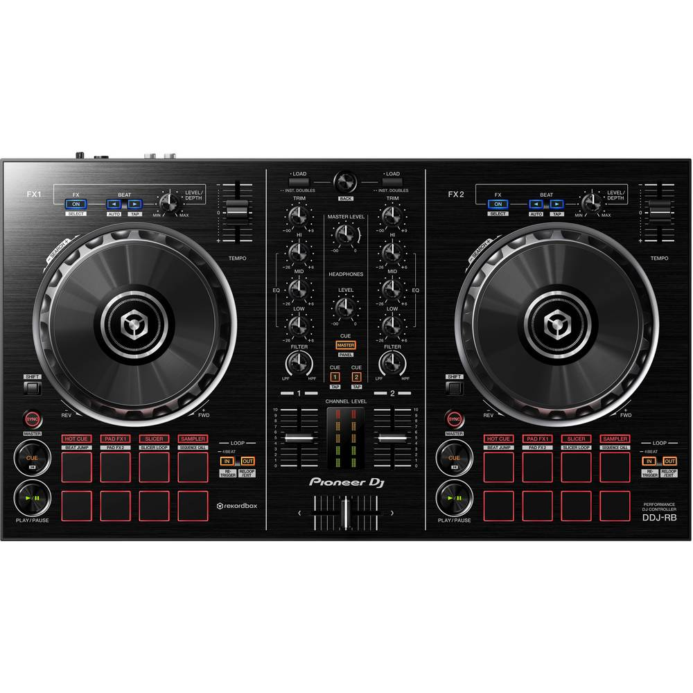 contr leur dj pioneer dj ddj rb sur le site internet conrad 1456329. Black Bedroom Furniture Sets. Home Design Ideas