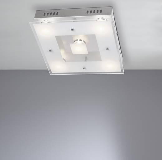 LED-Deckenleuchte 25 W Warm-Weiß WOFI Sphinx 9102.05.01.0000 Chrom, Transparent