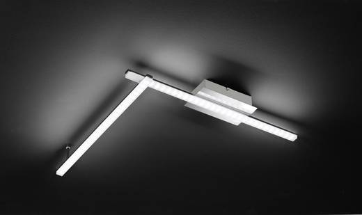 WOFI lera 9163.02.01.0000 LED-Deckenleuchte 20 W Warm-Weiß Chrom