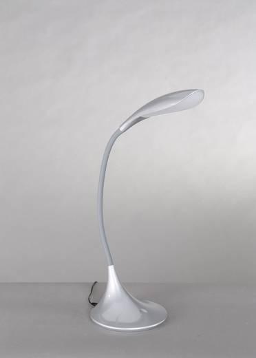 LED-Schreibtischleuchte 5.5 W Warm-Weiß WOFI Yon 8025.01.70.0000 Silber