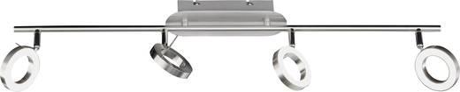 LED-Deckenstrahler 20 W Warm-Weiß ACTION Monza 736704640000 Nickel (matt)