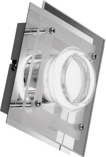 LED-Wandleuchte 5 W Warm-Weiß ACTION 422301010000 Chrom