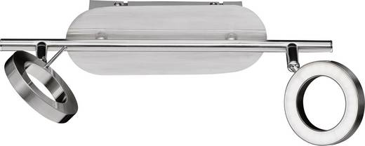 LED-Deckenstrahler 10 W Warm-Weiß ACTION Monza 736702640000 Nickel (matt)