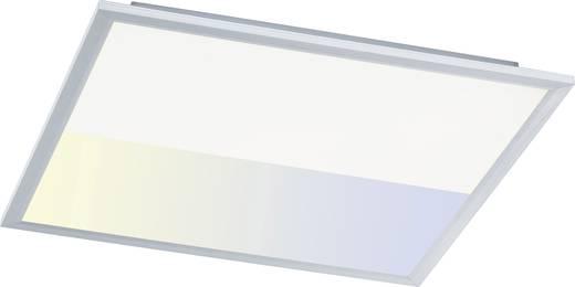 LED-Panel 44 W Kalt-Weiß WOFI Liv 9693.01.70.5600 Silber