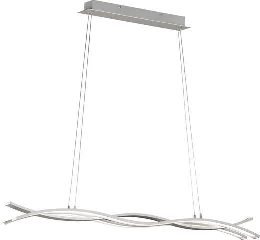 LED-Pendelleuchte 36 W Warm-Weiß WOFI Segura 7162.03.76.0000 Nickel