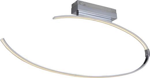 WOFI Lex 9024.01.01.0000 LED-Deckenleuchte 27 W Warm-Weiß Chrom