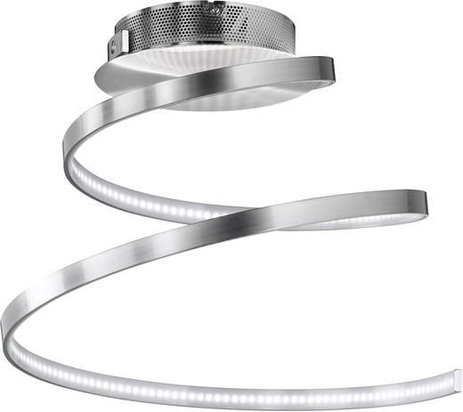 WOFI Laval 9369.01.64.1000 LED-Deckenleuchte 19 W Warm-Weiß Nickel (matt)