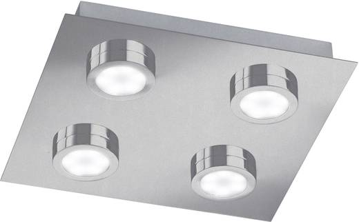 LED-Deckenleuchte 12 W Warm-Weiß ACTION Veneta 987104640000 Nickel (matt)