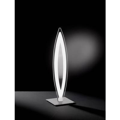 LED-Tischlampe 12 W Warm-Weiß WOFI Avignon 8275.01.64.0000 Chrom, Glas Preisvergleich
