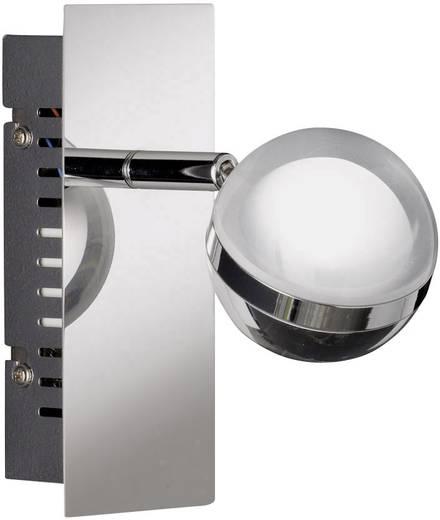 LED-Wandstrahler 6 W Warm-Weiß WOFI Fulton 4740.01.01.0000 Chrom