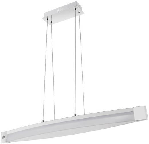 LED-Pendelleuchte 30 W Warm-Weiß WOFI Vannes 7625.01.01.0900 Chrom