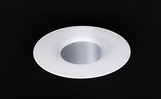 LED-Deckenleuchte 19 W Warm-Weiß WOFI Rondo 9671.01.06.0500 Weiß, Chrom