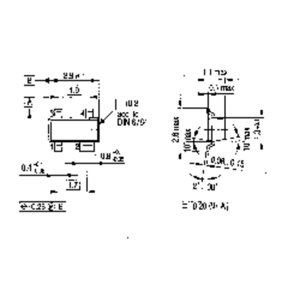 Transistor Bjt Diskret Pmbta14 Sot 23 1 Npn Darlington Im Circuit Diagram Of A Pair Using Transistors
