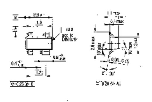 Transistor (BJT) - diskret nexperia BCX17 SOT-23 1 PNP