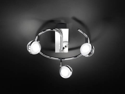 LED-Deckenstrahler 18 W Warm-Weiß WOFI Fulton 9740.03.01.0000 Chrom