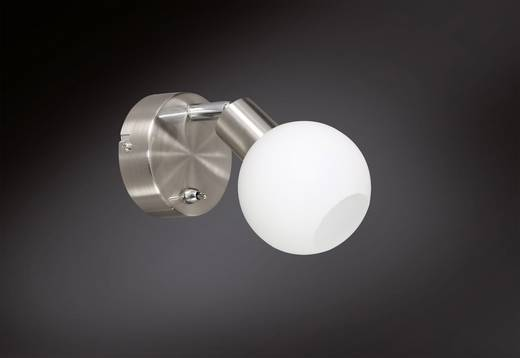 LED-Wandstrahler 5 W Warm-Weiß ACTION Nois 407101640000 Nickel (matt)