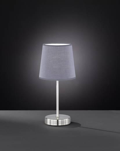 Nachttischlampe LED E14 42 W ACTION Cesena 832401500000 Grau, Nickel (matt)