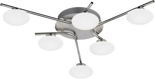 LED-Deckenleuchte 18 W Warm-Weiß WOFI Everett 9067.06.64.0000 Nickel (matt)