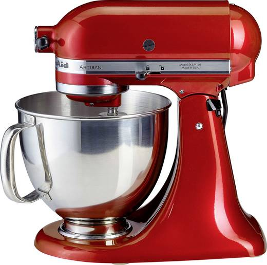 k chenmaschine kitchenaid artisan 5ksm 150 pseer 300 w rot. Black Bedroom Furniture Sets. Home Design Ideas