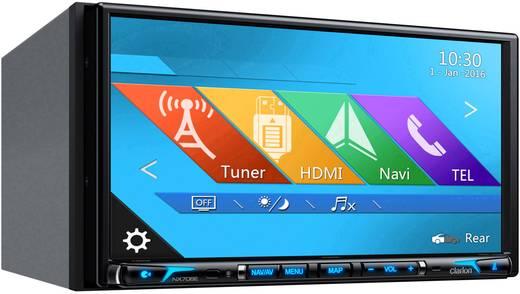 Clarion NX706E Navigationsgerät, Festeinbau Europa Anschluss für Lenkradfernbedienung, Anschluss für Rückfahrkamera, Blu