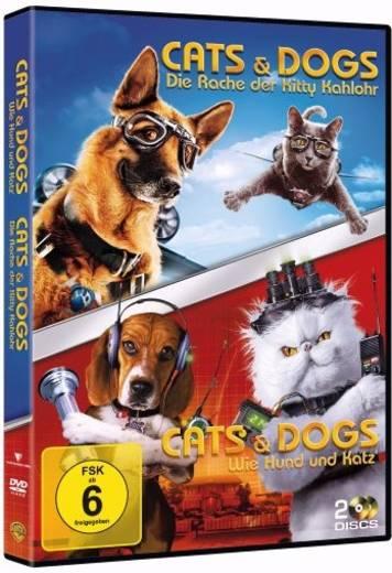 blu-ray Cats & Dogs Wie Hund und Katz / Cats & Dogs Die Rache der Kitty Kahlohr FSK: 6