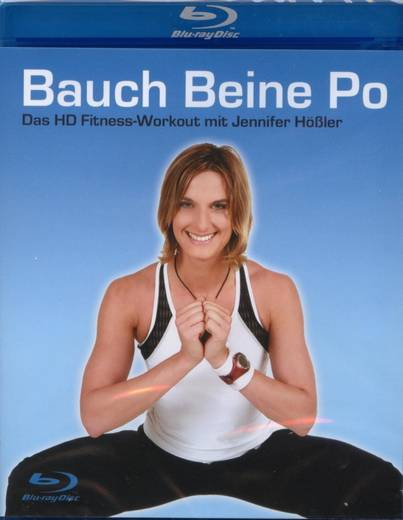 blu-ray Bauch Beine Po HD High Definition