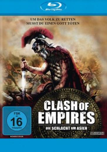 blu-ray Clash of Empires Die Schlacht um Asien FSK: 16