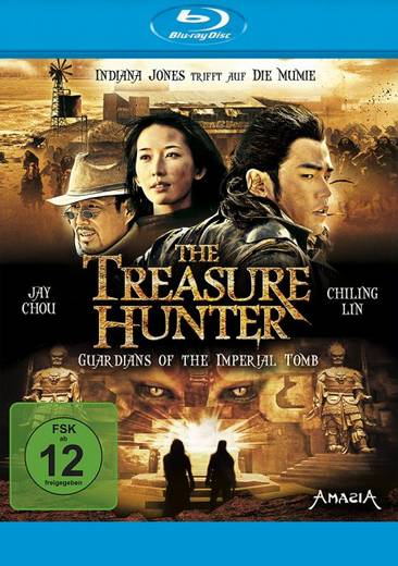blu-ray The Treasure Hunter Guardians of the imperial tomb FSK: 12