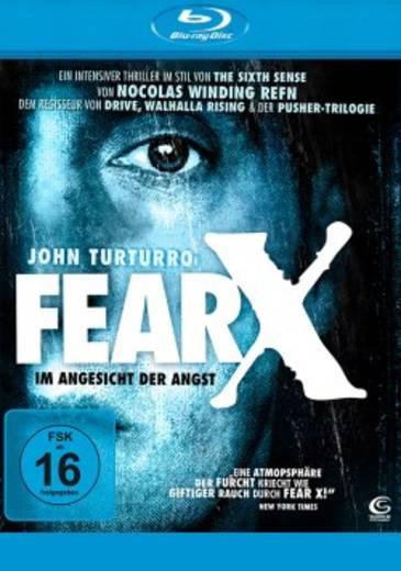 blu-ray Fear X Im Angesicht der Angst FSK: 16
