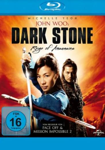 blu-ray Dark Stone Reign of Assassins FSK: 16