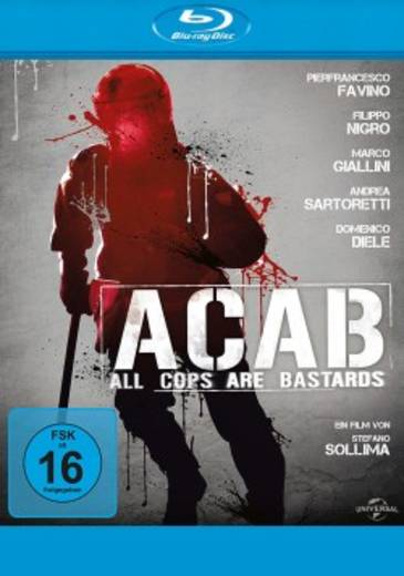 blu-ray A.C.A.B. All Cops Are Bastards FSK: 16