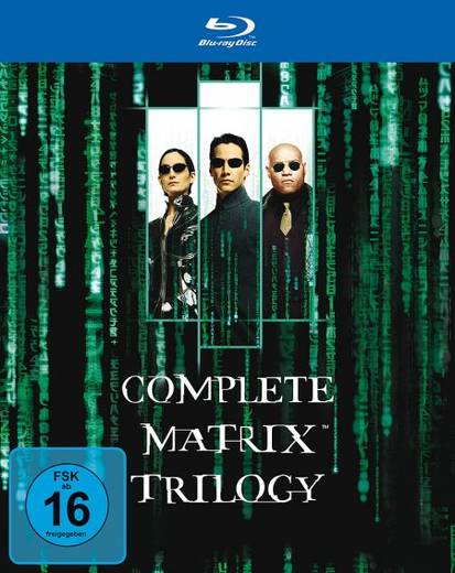 blu-ray The Complete Matrix Trilogy FSK: 16